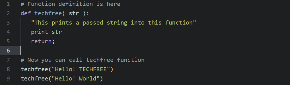 function-code