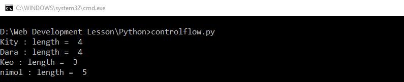 for_python_result