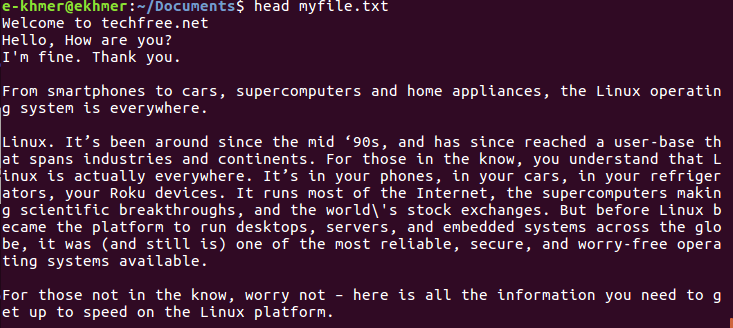 linux-head-file