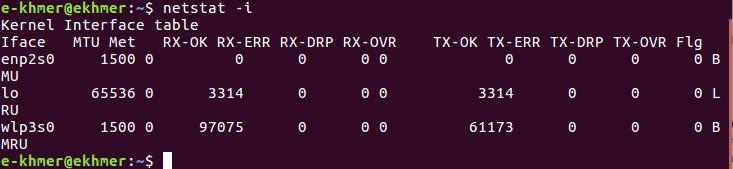 linux-netstat-i