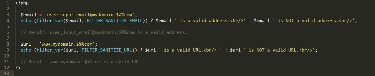 url_email_sanitize_filter