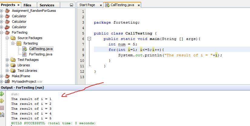 forloopcode
