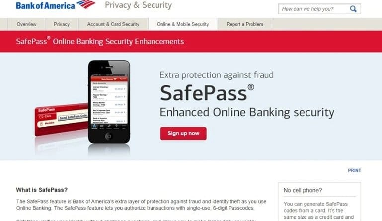 Bank Of America Adds New Layer Of Security To Online Banking