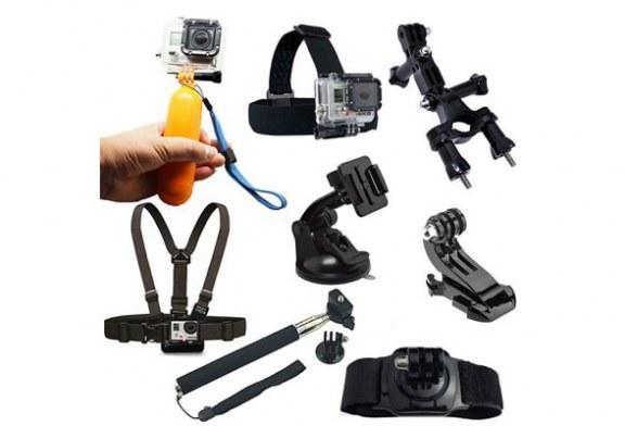 8PCS Action Camera Accessory Kit