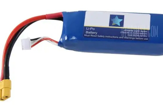 2700mAh Li - polymer Battery for Cheerson CX - 20 RC Quadcopter