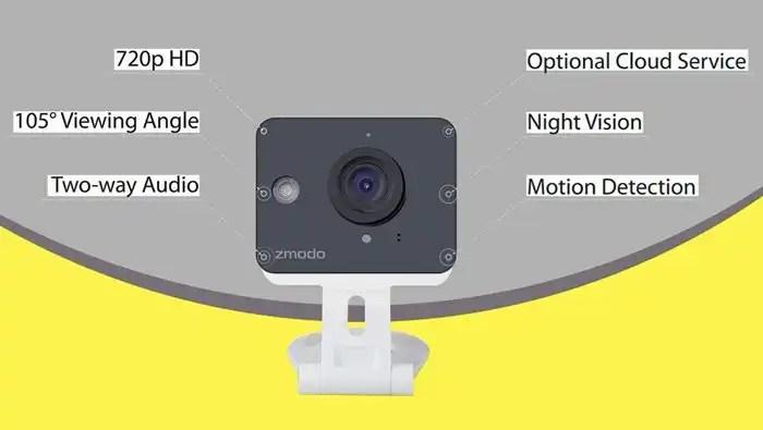 Zmodo ZM - SH75D001 Mini WiFi Camera