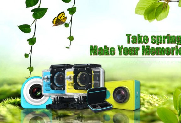 Big discounts in action cameras from Gearbest