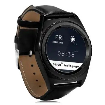 NO.1 S5 Heart Rate Monitoring Remote Camera Smart Watch2