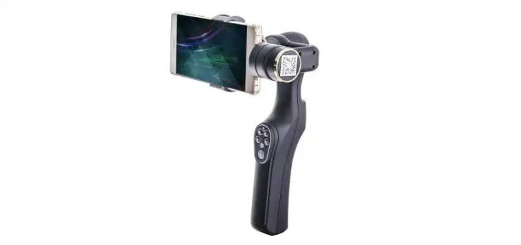 XJJJ JJ 1 2 axis handheld phone gimbal