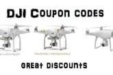 Great DJI Phantom 3 & 4 coupons for 11.11 promotion