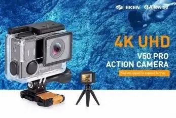 EKEN Alfawise V50 Pro review