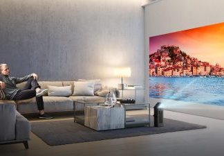LG's Award-Winning 4K UHD Projector To Debut At CES 2018
