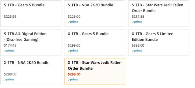 xbox one sale amazon
