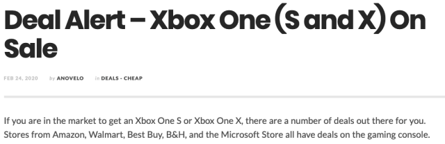 TGM Xbox Story
