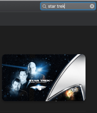 Star Trek itunes offer