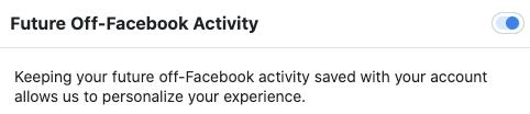 Off Facebook turn off