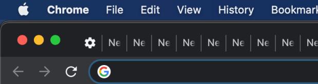 Chrome many tab