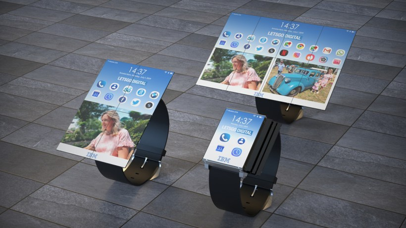 IBM Smartwatch Flexible Display
