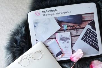 TechInHeels laptop