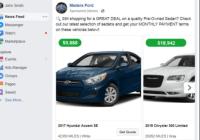 Facebook cars for Dealership