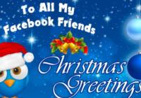 FACEBOOK CHRISTMAS GREETINGS.