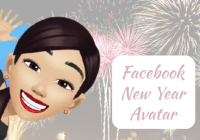 Facebook new year Avatar – How to create a New Year Avatar on Facebook