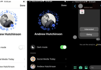 Facebook's Added a secrete Dark Mode to Messenger | here's how to find it.