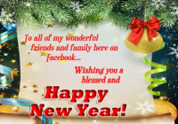 Facebook Happy New Year Wishes 2021, Messages, Greetings, WhatsApp Status.