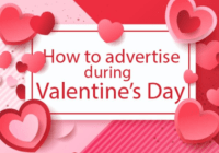how to advertise on valentine day