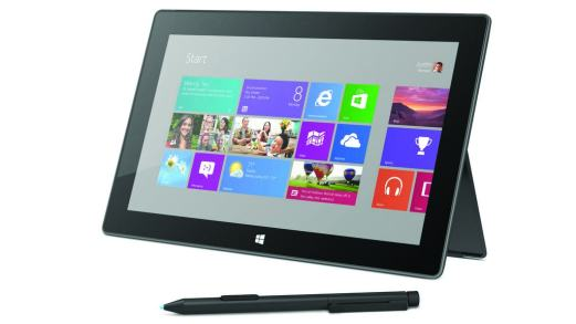 Surface Pro Stand_White_Pen_FrontAng