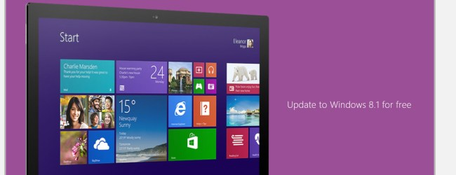 Windows 8.1 update out now, lets you boot up to desktop
