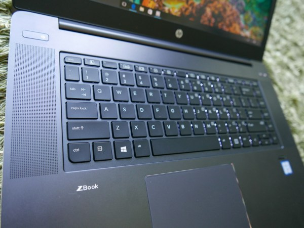 The keyboard is great for typing. PHOTO: Alfred Siew