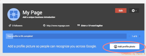 Google Plus page creation guide step 5