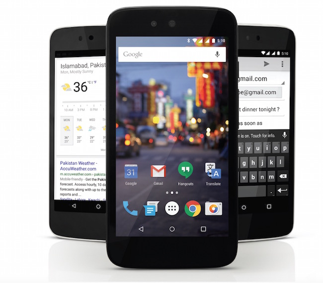 QMobile A1 Android One Phone in Pakistan