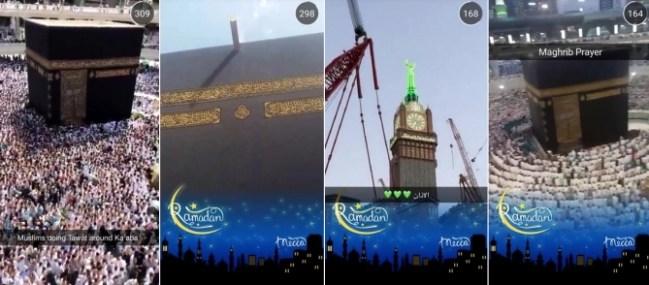 SnapChat Mecca Live