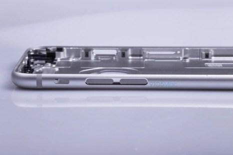 iPhone 6s metal housing side look