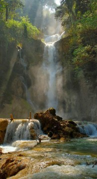 Amazing waterfall phone backgrounds wallaper