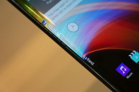 LG curved display phone