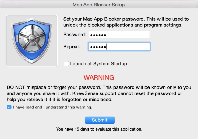 Password protect individual apps on mac