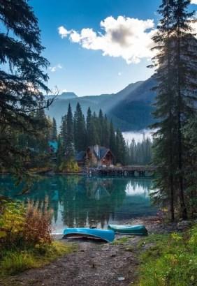 morning lake phone backgrounds wallaper