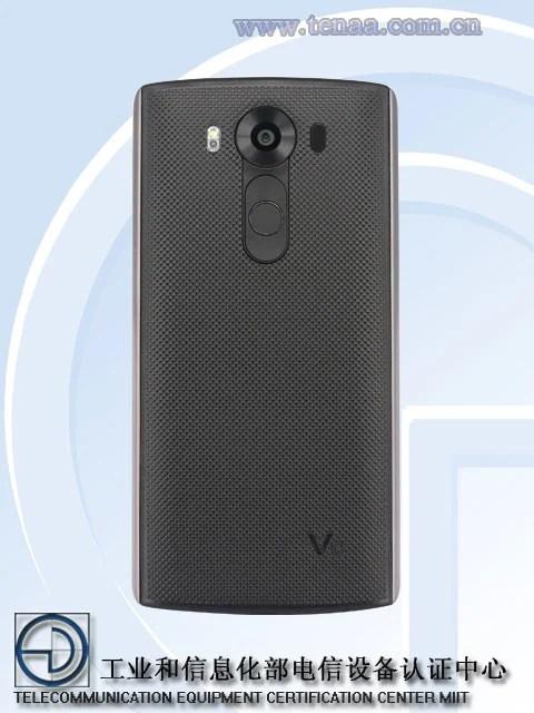 LG G4 Pro Back
