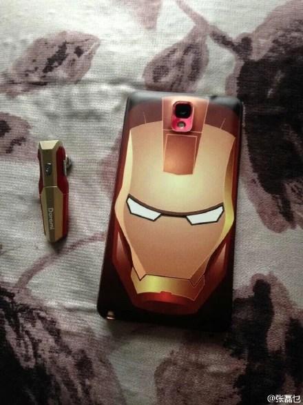 Note 3 Iron man design