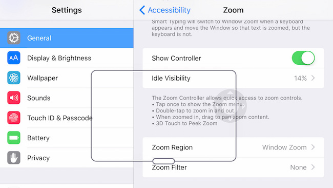 iPhone 6s Peek Zoom option 3D feature