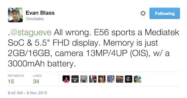 HTC One X9 evaleak