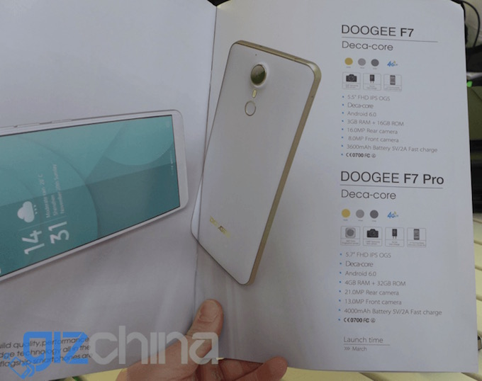 Doogee F7 and F7 Pro