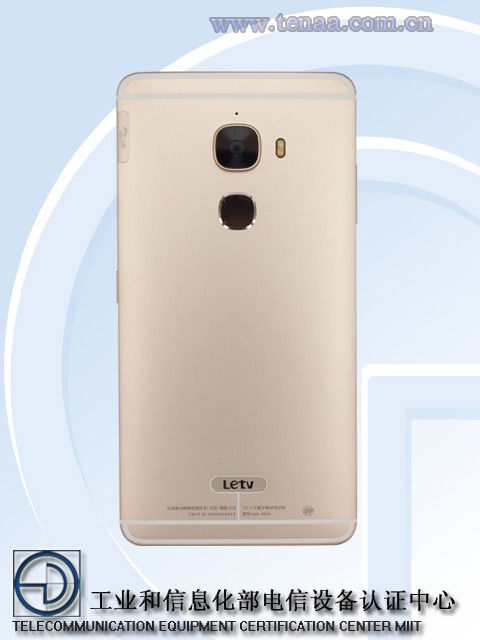 LeTV X910 Finger Print and Camera