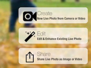 Edit Live Photos