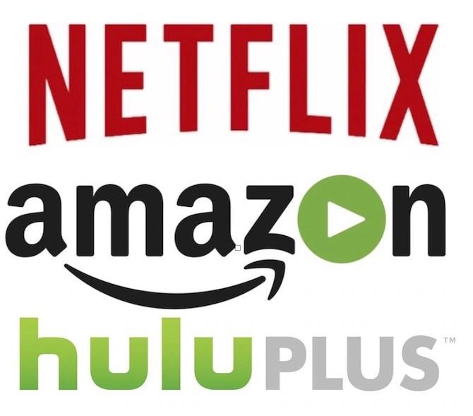 Netfllx vs Amazon Prime vs Hulu Plus