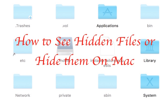 Viewing Hiding Editing Files and Folders