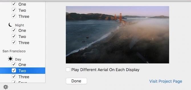 Apple TV Screensaver Settings